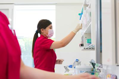 衛生的な治療環境と器具の管理